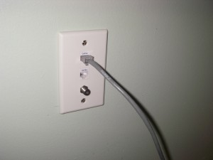 Ethernet Cable wall socket