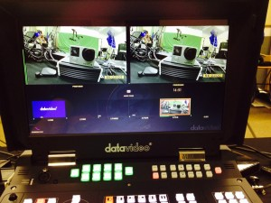 Datavideo HD HS-2200 Switcher and GoPro Hero 4 Camera