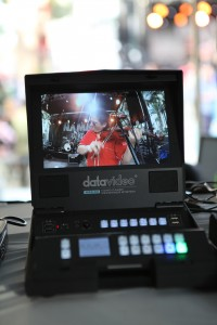 The Datavideo HRS-30 has a high resolution HD monitor and ease to use controls for recordings and playback