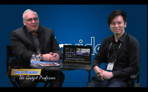 Don Baine interviewed over 40 guests at the Datavideo booth at NAB 2015!