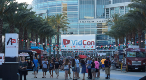 This years VidCon was bigger than ever, occupying every  space at the Anaheim convention with over 20,000 members of the online community, including Content Creators, andIndustry leaders, attending the 3 day event.