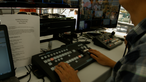 The new RMC-260 control panel for the switcher added professional and more intuitive controls for live production over its ability to be controlled by a tablet computer. At $2,000 total for both, it gives a professional powerful video mixing tool to many smaller production companies and projects.