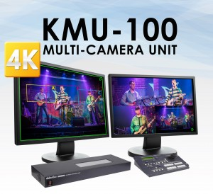Unlike the MOVI camera, the Datavideo KMU-100 allows the user to use their own broadcast or prosumer quality 4K or UHD camera via 12G SDI, 6G SDI, or HDMI 2.0.