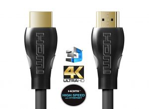 For 4K video, you need high speed HDMI cables.