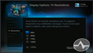 Your Cable or Satellite provider may configure their HD devices to deliver 1080p to your TV, but it is upconverting the 720p and 1080i TV stations.