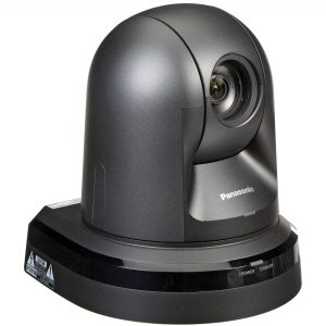 The AW-HE40SK has a simple design, it is thin with a small base. It looks very similar to many CCTV cameras.