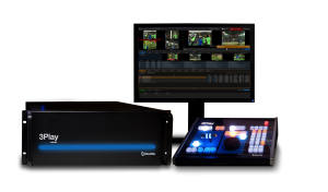 At a cool $39,995, the Newtek 3Play 4800 has a heavy price tag, but offers up to 8 channels of recording and playback with over 400 hours of storage.