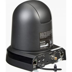 The Panasonic AW-HE40 has more outputs dedicated to connecting to a network. It can transmit compressed video over IP.