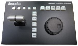 The Datavideo RMC-400 offers the same professional control capabilities of higher end systems for a fraction of the price. The Datavideo RMC-400 is only $499.